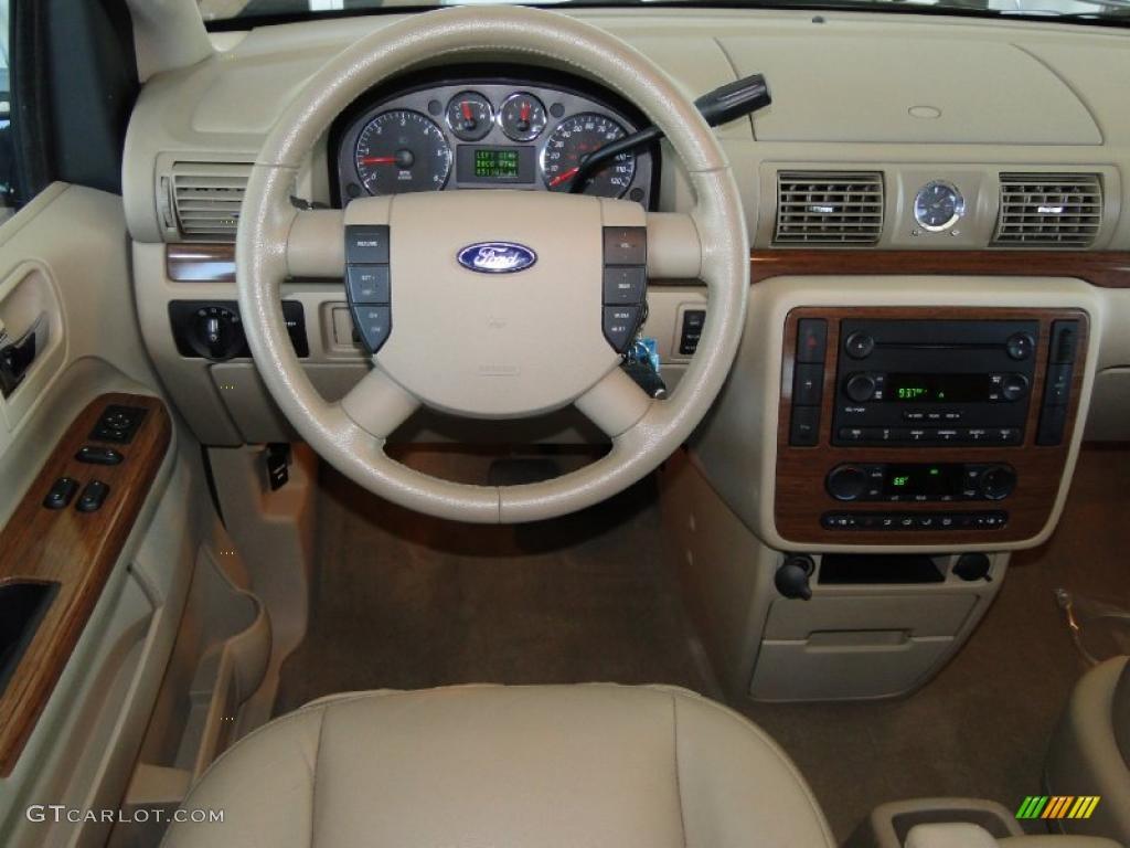 2005 Ford Freestar Limited Pebble Beige Dashboard Photo 49003757