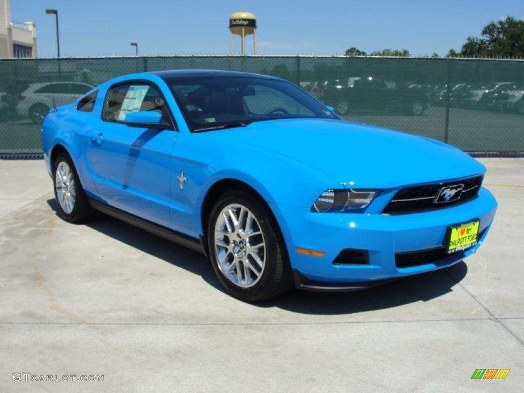 Grabber Blue Mustang >> 2012 Grabber Blue Ford Mustang V6 Premium Coupe 48981079 Gtcarlot