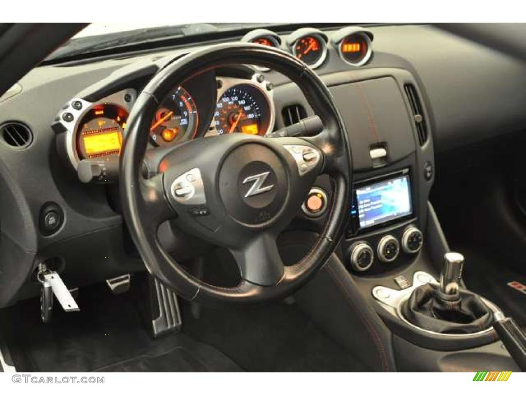2009 Nissan 370Z NISMO Coupe Interior Photo #49013594