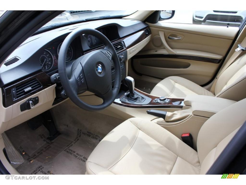 Beige Interior 2011 Bmw 3 Series 328i Xdrive Sports Wagon Photo