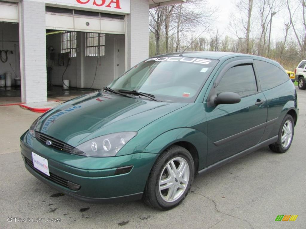 rainforest green metallic 2000 ford focus zx3 coupe exterior photo 49027299. Black Bedroom Furniture Sets. Home Design Ideas