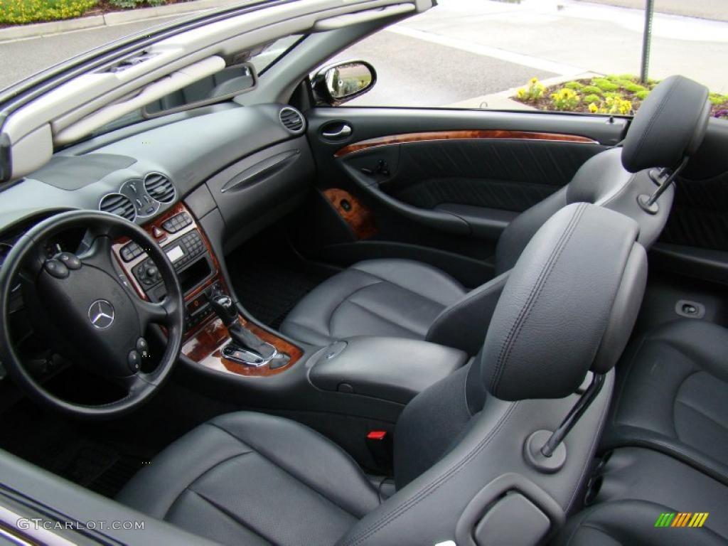 2004 mercedes benz clk 320 cabriolet interior photo 49030338