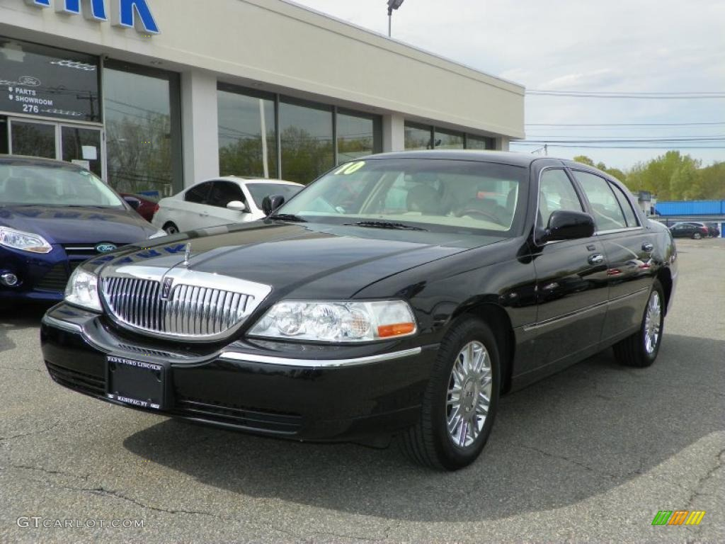 2010 Black Lincoln Town Car Signature L 48981026 Gtcarlot Com