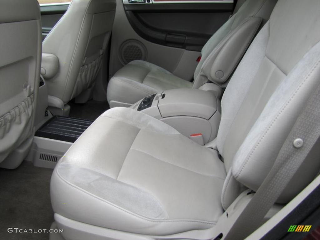 Dark Khaki Light Graystone Interior 2007 Chrysler Pacifica Limited Awd Photo 49041823
