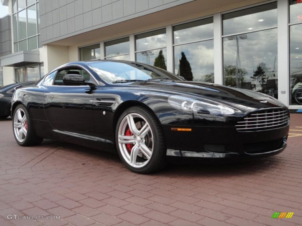 2009 Db9 Coupe Onyx Black Obsidian Photo 3