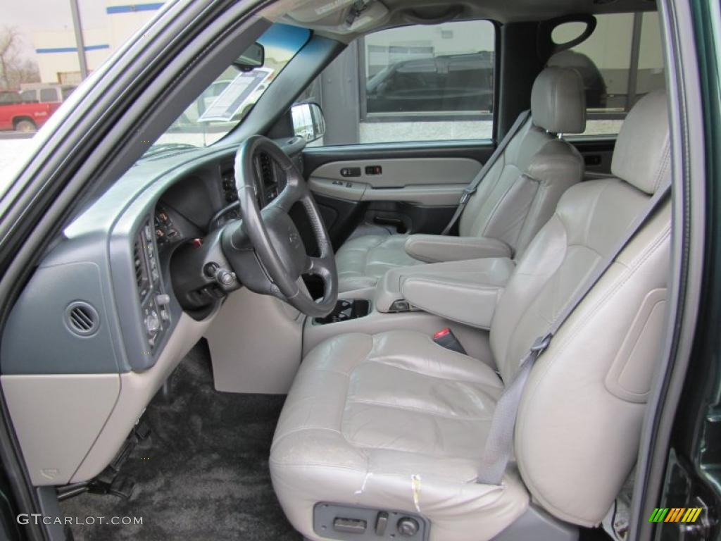 2002 Chevrolet Suburban 1500 Z71 4x4 Interior Photo 49058894