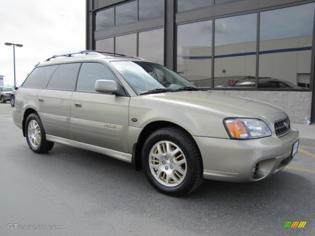 2001 Subaru Outback 3.0 >> Titanium Beige Pearl 2003 Subaru Outback L.L. Bean Edition Wagon Exterior Photo #49060355 ...