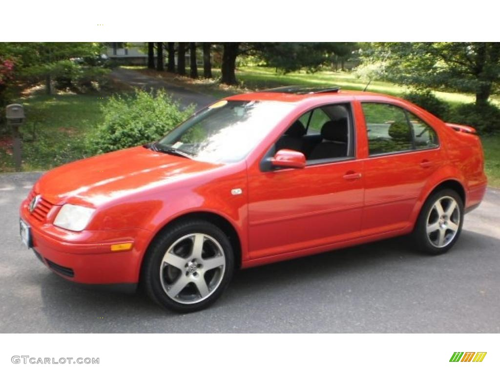 2003 Tornado Red Volkswagen Jetta Gli Sedan 49051128