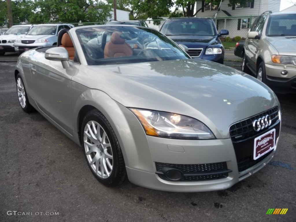 2008 sahara silver metallic audi tt 3 2 quattro roadster 49050947 car color. Black Bedroom Furniture Sets. Home Design Ideas