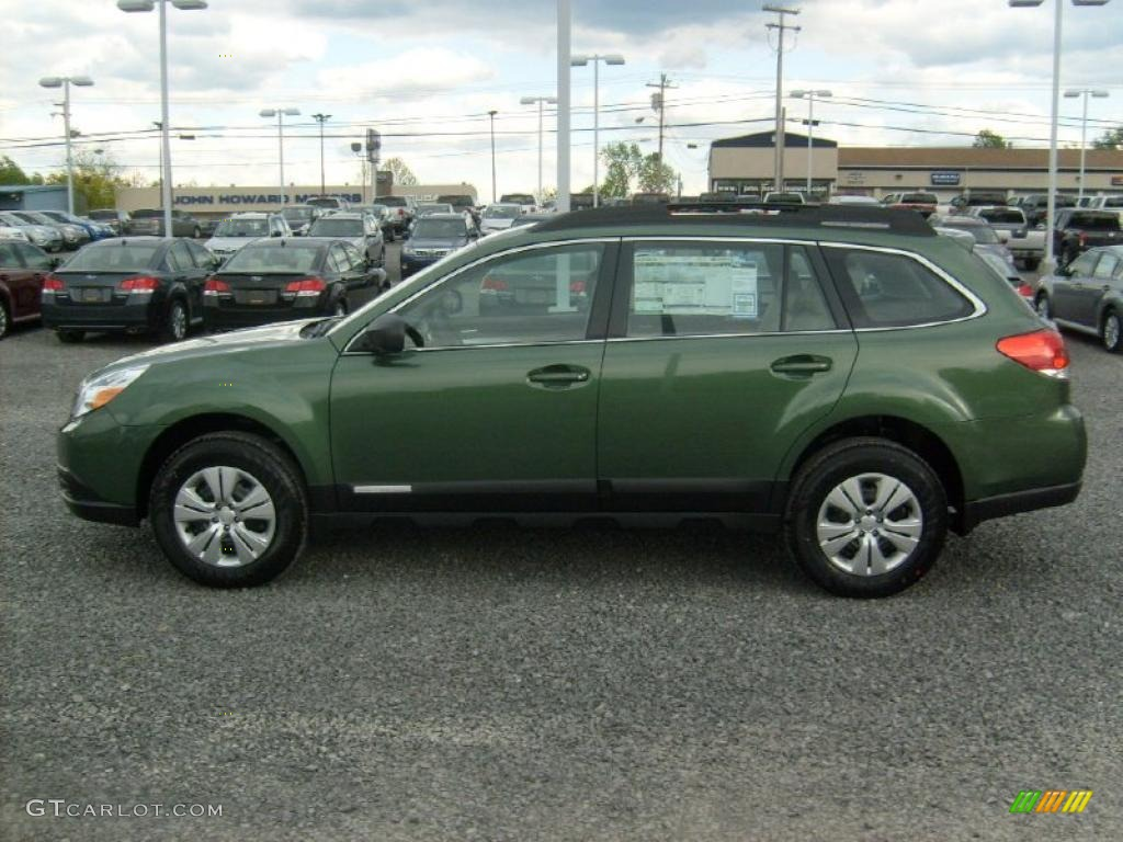 cypress green pearl 2011 subaru outback wagon exterior photo 49078883. Black Bedroom Furniture Sets. Home Design Ideas