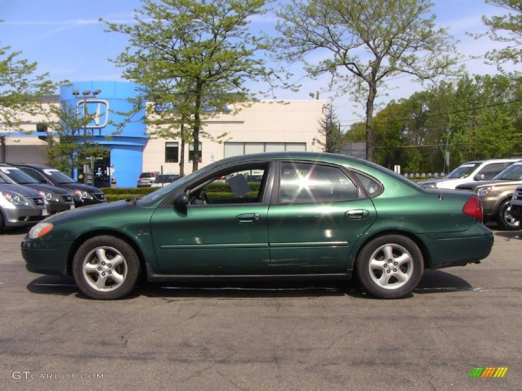 tropic green metallic 2000 ford taurus se exterior photo. Black Bedroom Furniture Sets. Home Design Ideas