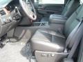 2011 Steel Green Metallic Chevrolet Silverado 1500 LTZ Extended Cab 4x4  photo #2