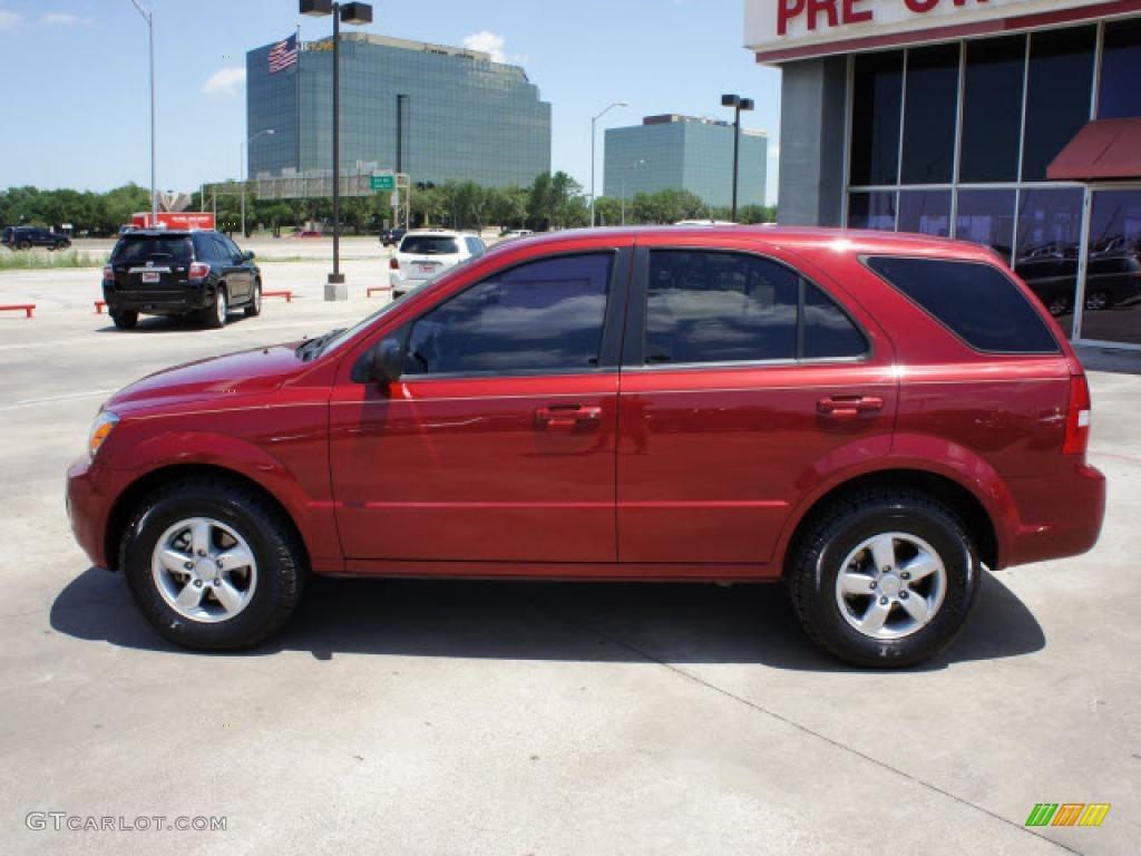 2008 kia sorento red 200 interior and exterior images. Black Bedroom Furniture Sets. Home Design Ideas