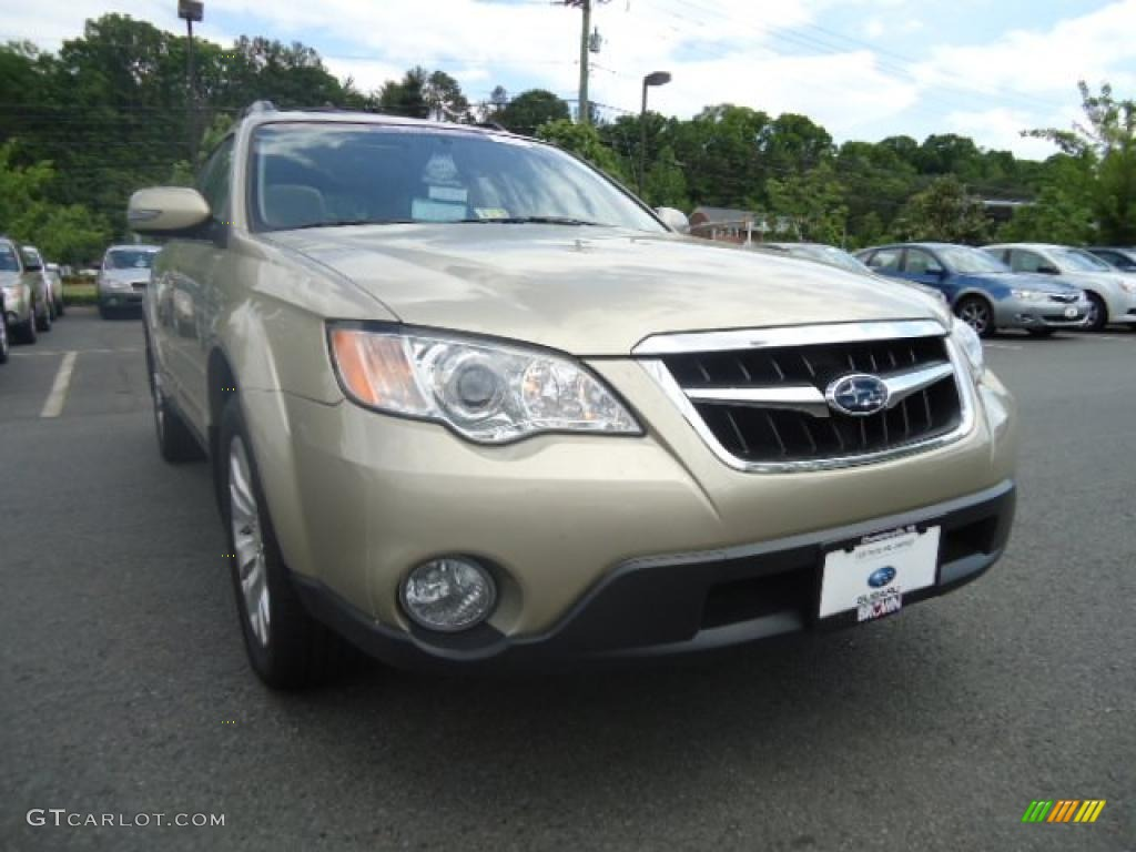 2008 harvest gold metallic subaru outback 3 0r l l bean. Black Bedroom Furniture Sets. Home Design Ideas