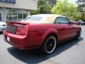2007 Redfire Metallic Ford Mustang V6 Premium Convertible  photo #8