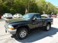 2004 Black Dodge Dakota SLT Regular Cab 4x4  photo #5