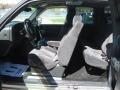 2002 Light Pewter Metallic Chevrolet Silverado 1500 LS Extended Cab 4x4  photo #2