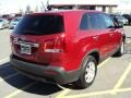 2011 Spicy Red Kia Sorento LX AWD  photo #2