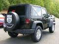2011 Natural Green Pearl Jeep Wrangler Sport S 4x4  photo #3