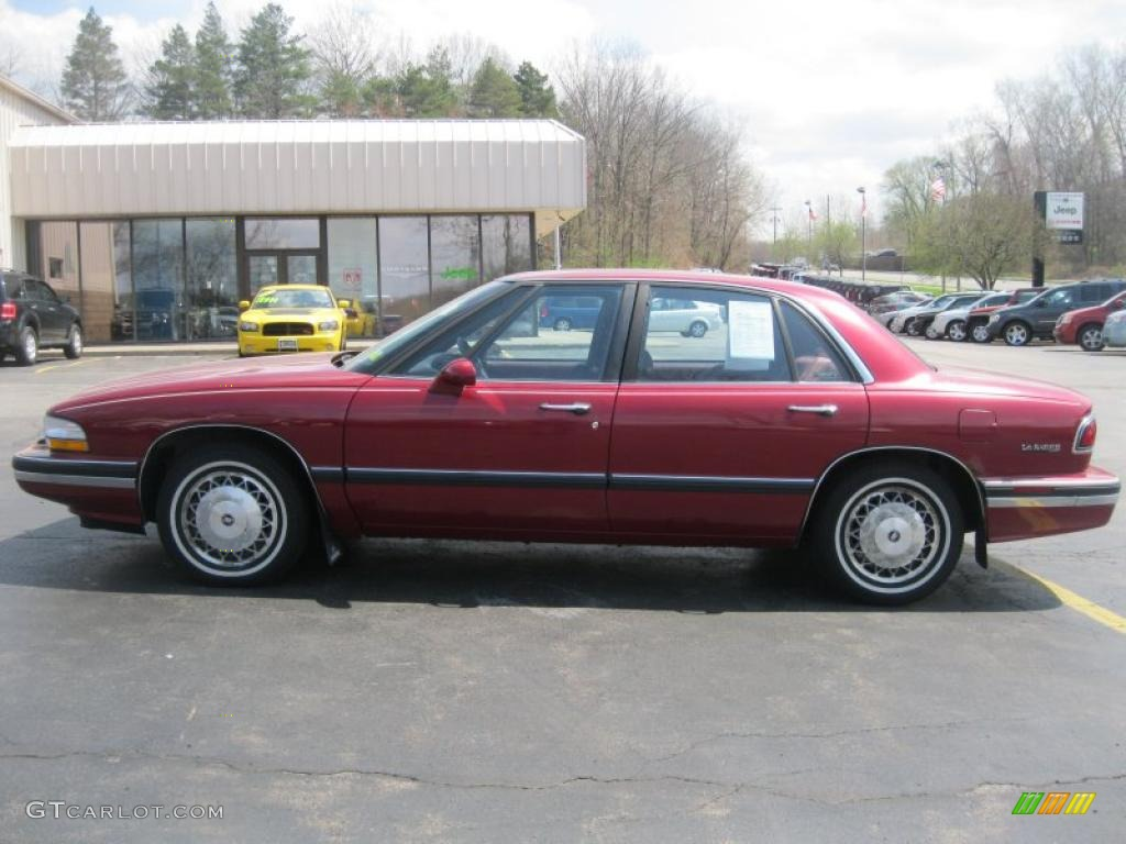 Ruby Red Metallic 1995 Buick LeSabre Custom Exterior Photo #49109798