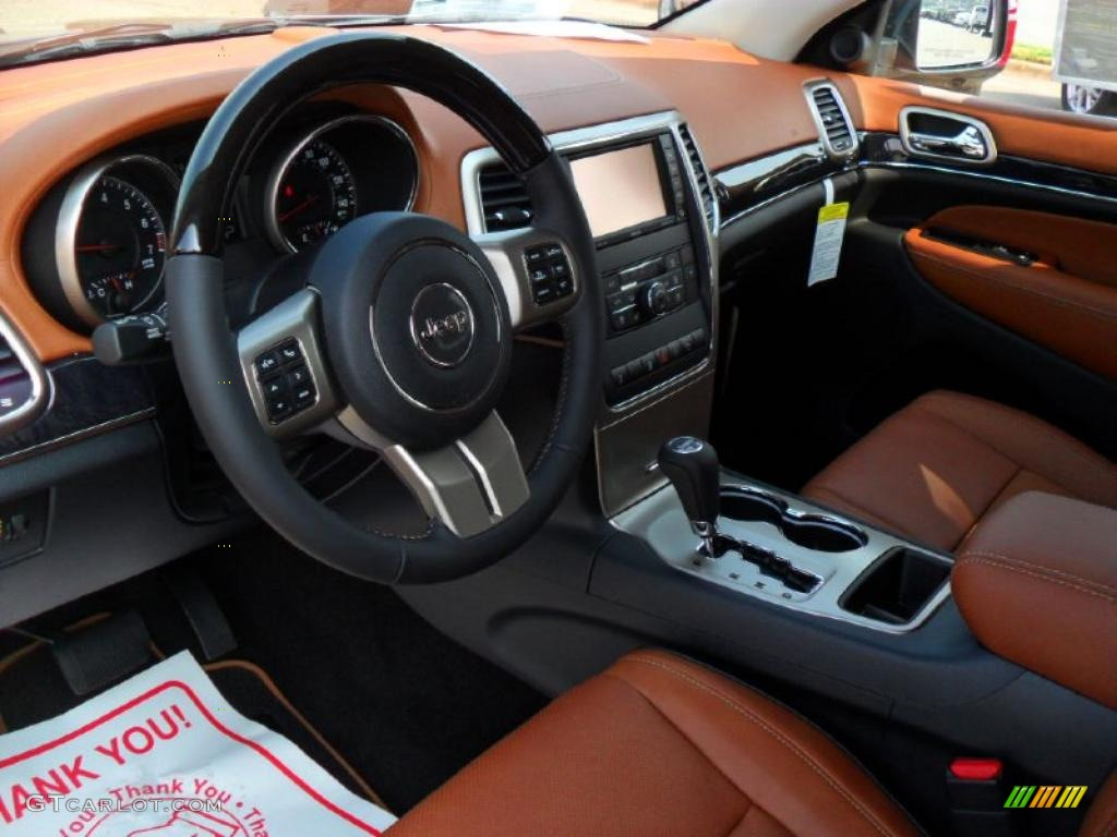 2011 Jeep Grand Cherokee Overland Summit Interior Color Photos
