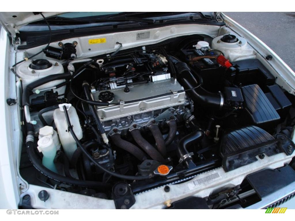 2000 Mitsubishi Galant ES Engine Photos