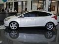 2012 White Platinum Tricoat Metallic Ford Focus Titanium 5-Door  photo #8