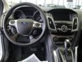 2012 White Platinum Tricoat Metallic Ford Focus Titanium 5-Door  photo #20