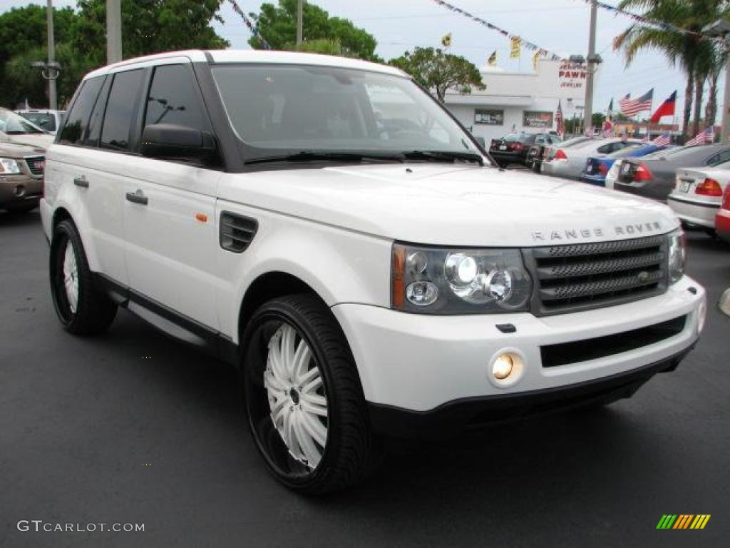 2007 Chawton White Land Rover Range Rover Sport Hse 49091217 Car Color Galleries