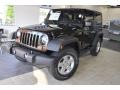 2011 Natural Green Pearl Jeep Wrangler Sport S 4x4  photo #2