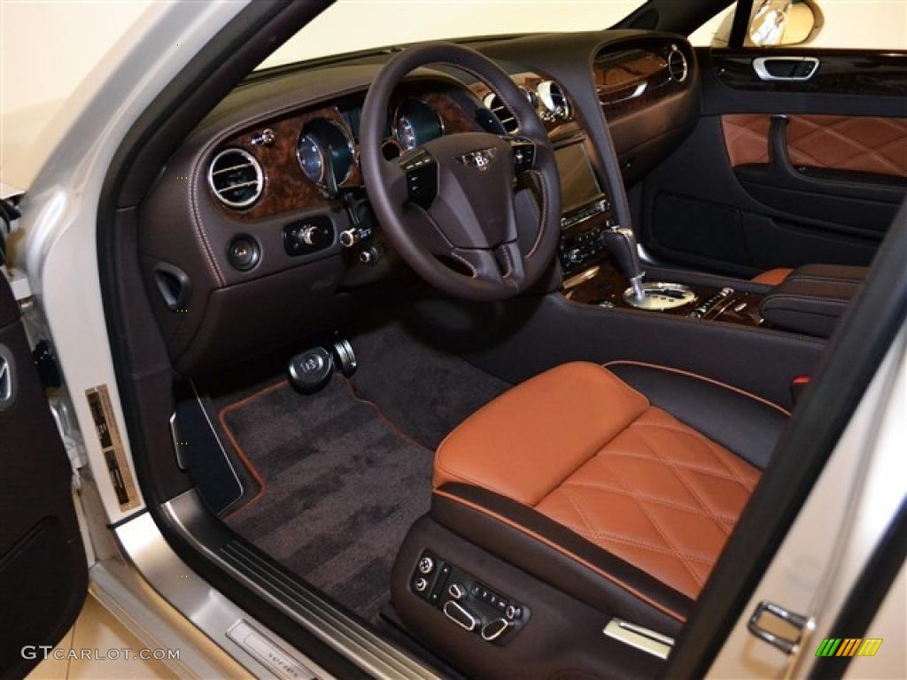Burnt Oak Interior 2012 Bentley Continental Flying Spur ...