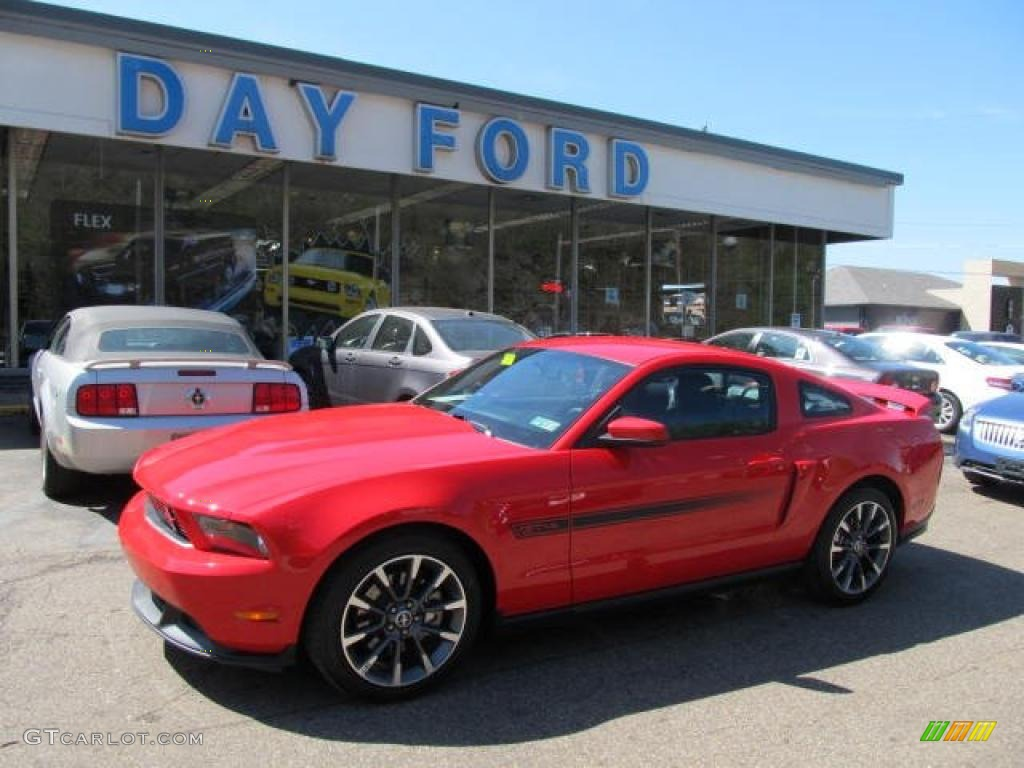 2011 Mustang GT/CS California Special Coupe - Race Red / CS Charcoal Black/Carbon photo #1