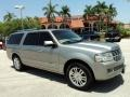 Vapor Silver Metallic 2008 Lincoln Navigator L Limited Edition 4x4