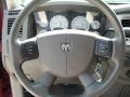 2009 Dodge Ram 3500 Khaki Interior Steering Wheel Photo