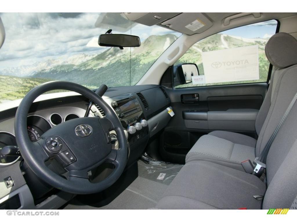 2011 Tundra Double Cab 4x4 - Silver Sky Metallic / Graphite Gray photo #4