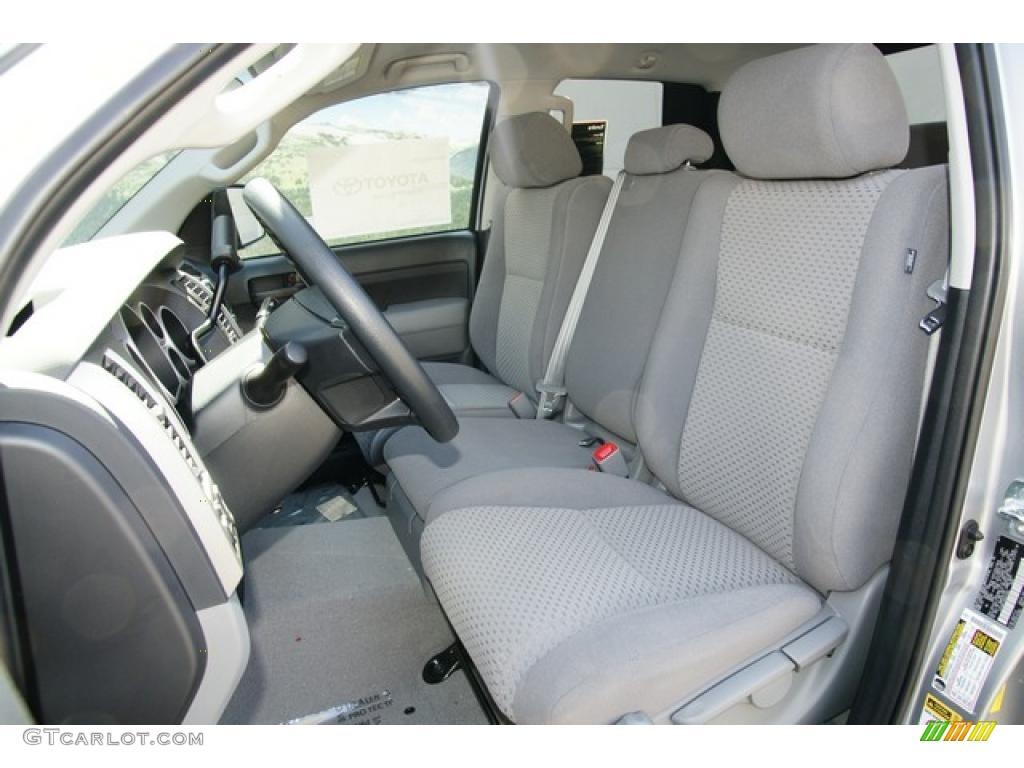2011 Tundra Double Cab 4x4 - Silver Sky Metallic / Graphite Gray photo #5