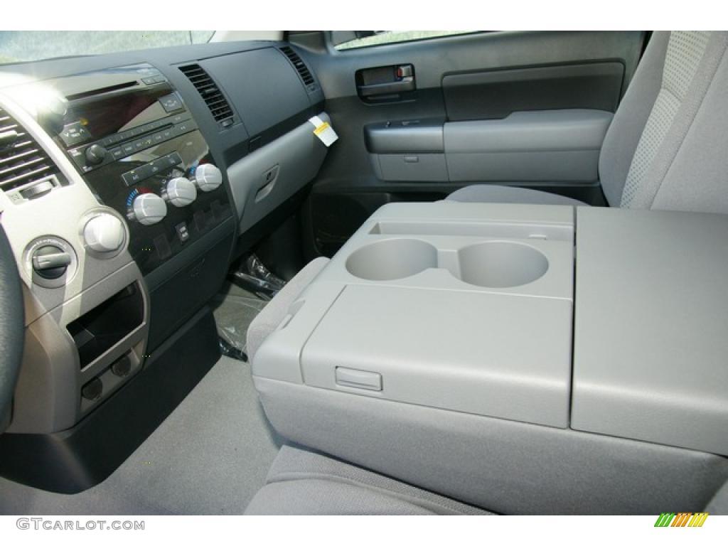 2011 Tundra Double Cab 4x4 - Silver Sky Metallic / Graphite Gray photo #6