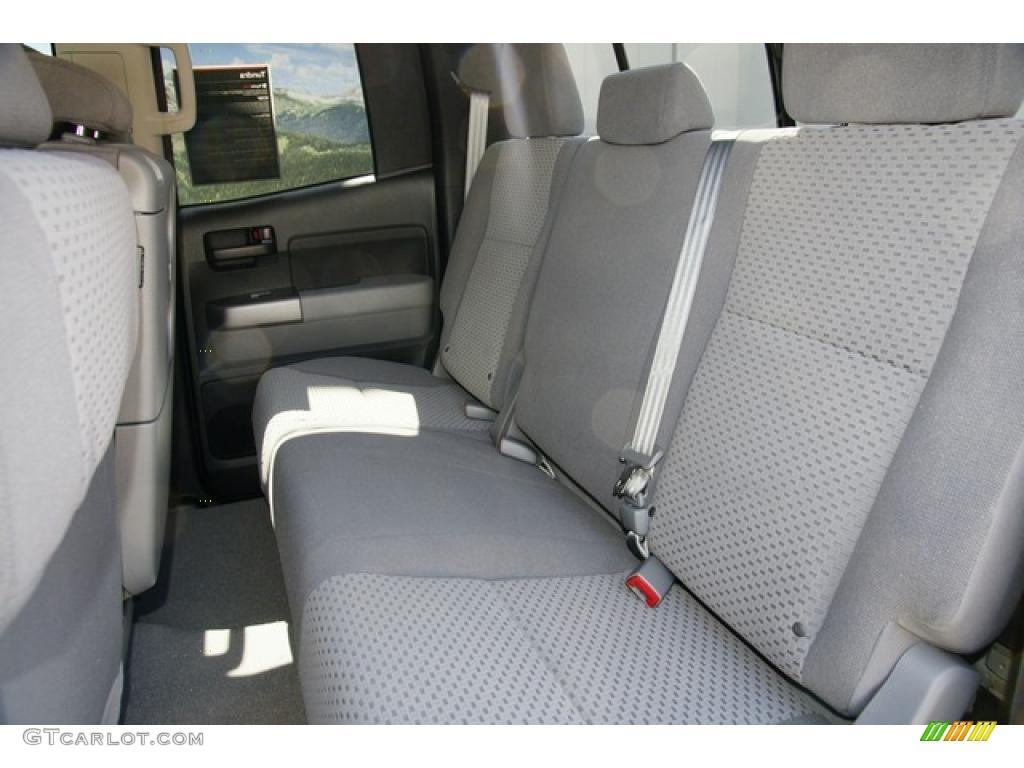 2011 Tundra Double Cab 4x4 - Silver Sky Metallic / Graphite Gray photo #8