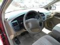 Beige 1998 Toyota Sienna Interiors