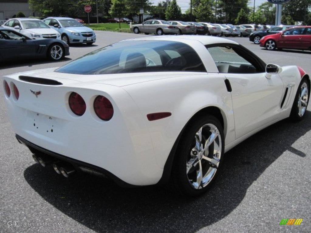 2011 Arctic White Chevrolet Corvette Grand Sport Coupe