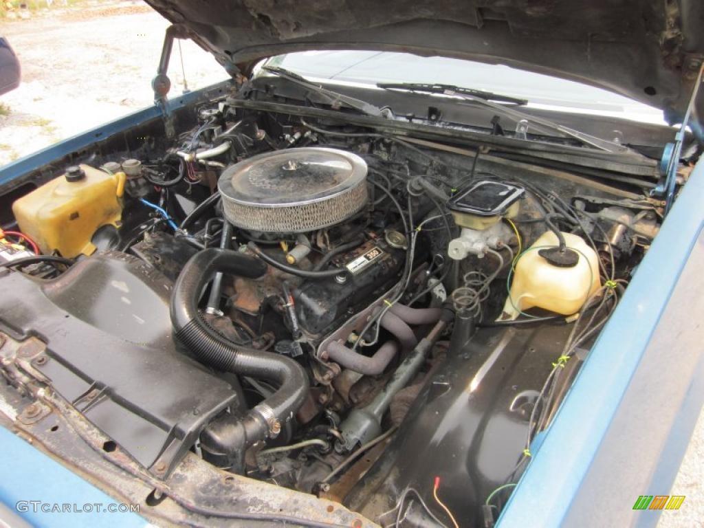 1983 Chevrolet El Camino Conquista 5.0 Liter OHV 16-Valve ...