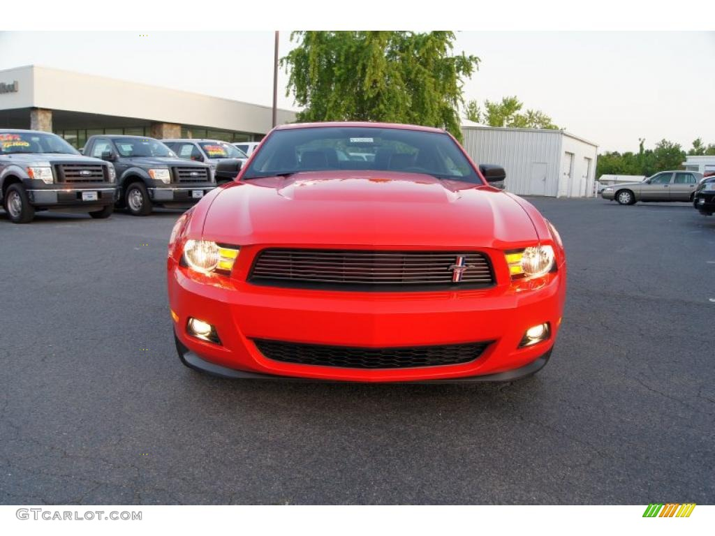 race red 2012 ford mustang v6 mustang club of america edition coupe exterior photo 49169009. Black Bedroom Furniture Sets. Home Design Ideas