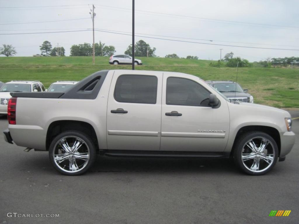 gold mist metallic 2009 chevrolet avalanche ls exterior photo 49176101. Black Bedroom Furniture Sets. Home Design Ideas
