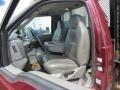 2004 Dark Toreador Red Metallic Ford F450 Super Duty XL Regular Cab 4x4 Chassis Stake Truck  photo #6