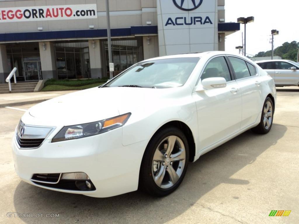 2012 Bellanova White Pearl Acura TL 37 SHAWD Technology