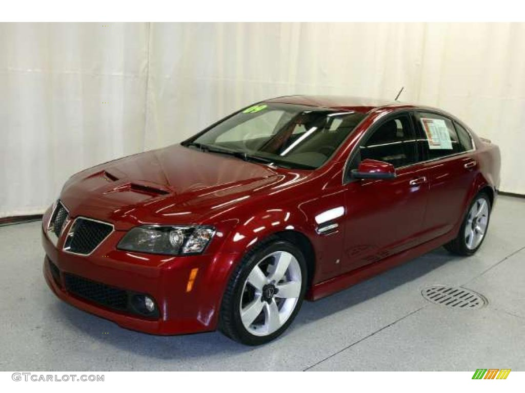 Sport Red Metallic 2009 Pontiac G8 Gt Exterior Photo 49182692 Gtcarlot Com