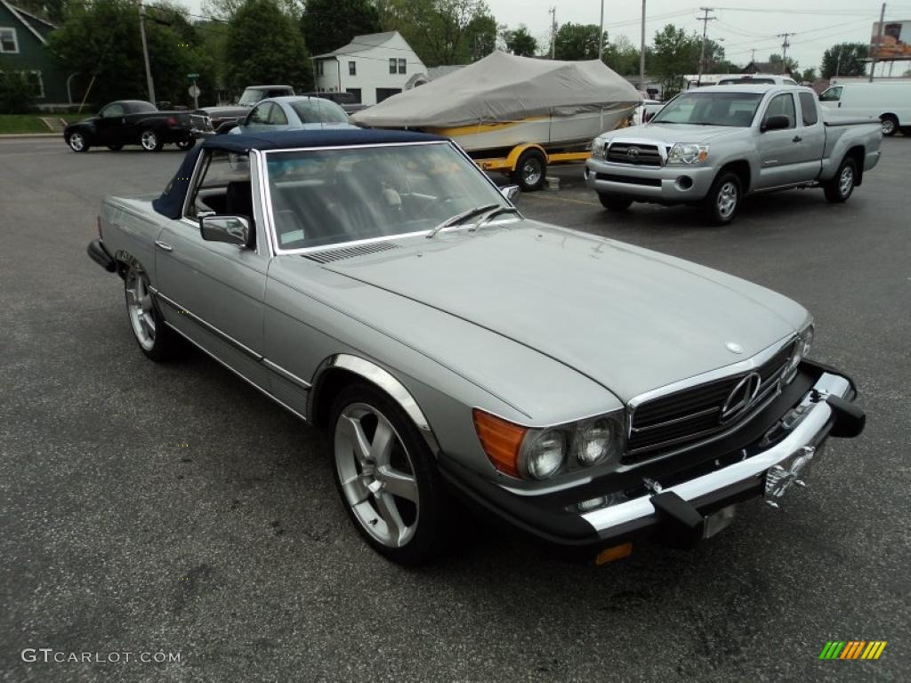 1980 mercedes benz sl class 450 sl roadster exterior for Mercedes benz sl roadster