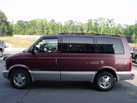 1997 Chevrolet Astro LS Passenger Van Data, Info and Specs