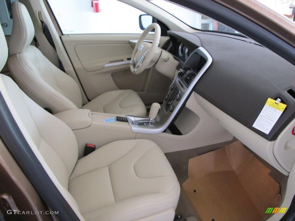 Sandstone Beige Interior 2011 Volvo Xc60 T6 Awd Photo 49204763