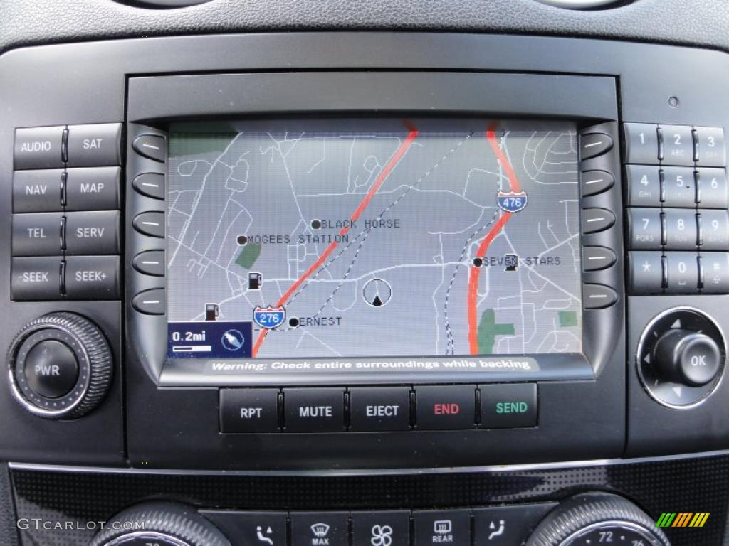 how to work mercedes navigation